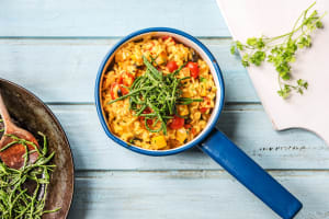 Samphire and Spanish Rice image