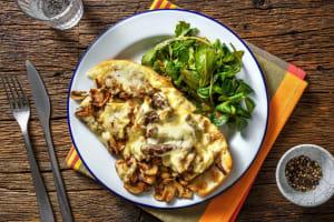 Sandwich au bœuf & fromage à raclette image