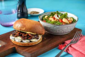 Brie and Mushroom Sandwich image