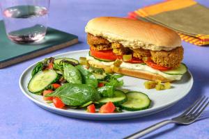 Mediterranean Falafel Sandwich image