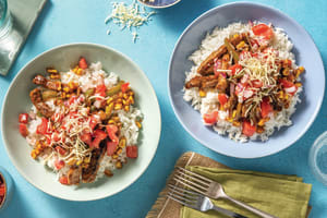 Saucy Mexican Beef & Rice Bowl image