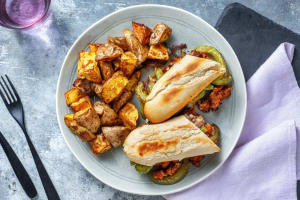 Sausage and Pepper Hoagie image