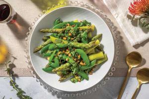 Sautéed Asparagus & Sugar Snap Peas image