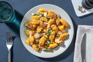 Schnelle Gnocchi mit Tomatenrahm und Chorizo image