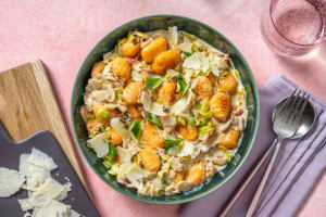 Schnelle Süßkartoffelgnocchi-Pfanne image