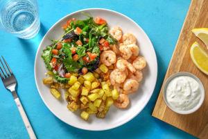 Seared Greek-Style Shrimp image