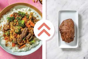 Quick Sesame Steak & Broccoli Stir-Fry image
