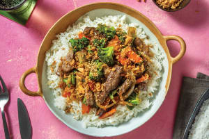 Quick Sesame Beef & Broccoli Stir-Fry image
