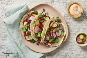 Sesame Beef Tacos image