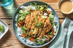 Sesame Crumbed Pork & Ginger Rice Bowl image