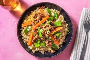 Sesame Ground Pork Bowl image