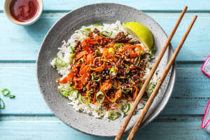 Sesame Sriracha Beef Stir-Fry image