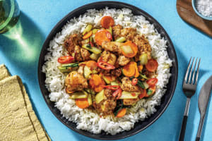 Thai Seven-Spice Chicken & Asian Greens image