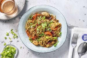 Shanghai Style Hoisin Chicken Stir-Fry image