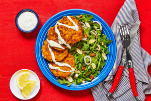 Shawarma-Spiced Chickpea Fritters image