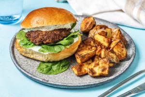 Shawarma-Spiced Lamb Sandwich image
