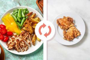 Sheet Pan Lemon-Pepper Chicken Thighs image