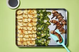 Pork Sausage & Shingled Potatoes image