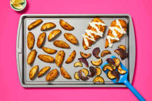 Sheet Pan Spiced Chicken Cutlets image