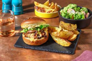 Shredded Duck Confit Burger and Dijon Mayo image