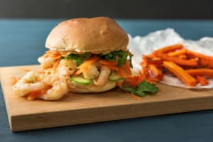 Shrimp Banh Mi Burger image