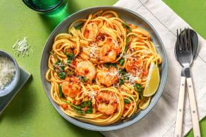 Shrimp Diavolo Linguine image