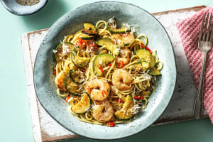 Shrimp Linguine With a Kick image
