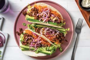 Sichuan Garlic Beef Tacos image