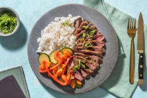 Simmentaler Steak mit Bulgogisoße image