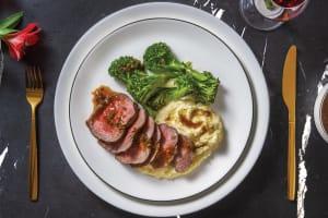 Premium Fillet Steak & Tarragon Sauce image