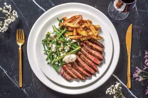 Sirloin Steak & Rosemary Fries image