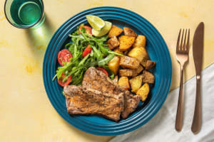 Sizzler Steaks with Chipotle Butter image