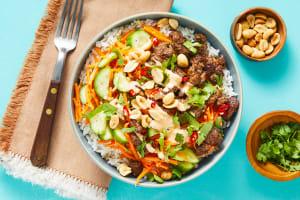 Sizzlin' Saigon Steak Bowls image