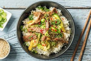 Sizzling Korean Beef image
