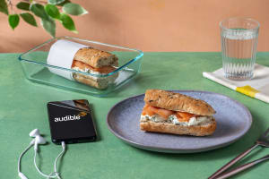 Smoked Salmon Sandwich with Dill Cream Cheese image