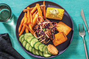 Smokey BBQ Tofu & Corn image