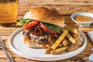 Smokey Beef Cheeseburger image
