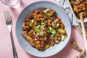 Smoky BBQ Chicken & Black Bean Loaded Wedges image