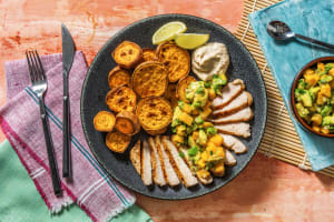 Smoky Pork Chops with Avocado Mango Salsa image