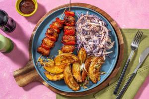 Smoky Sausage Skewers image