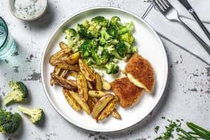 Vegetarische soufflé met Roseval aardappelen image