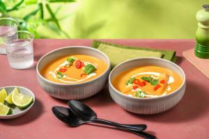 Warming Thai Coconut Soup image