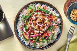 Southeast Asian Pork Rice Bowl image