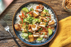 Southeast Asian Tofu Bowl image
