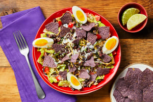 Southwest Salad with Lime-Ranch Dressing image