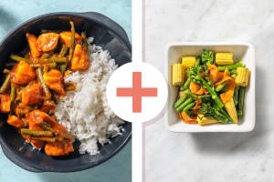 Soy and Honey Chicken and Rainbow Veg Mix image