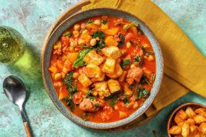 Spanish Chorizo and Chickpea Stew image