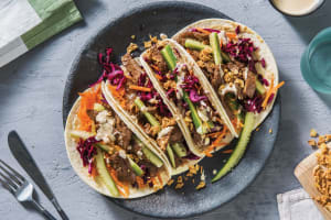 Speedy Asian Beef Tacos image