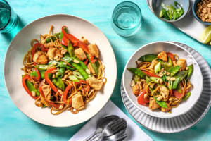 Speedy Chicken and Prawn Noodles image