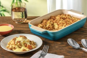 Spiced Apple & Pear Crumble image
